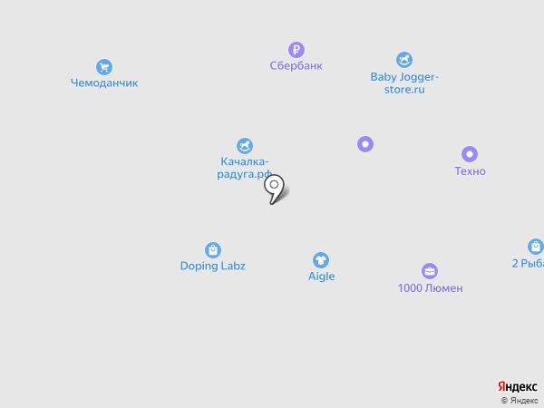 Технотон Трейд на карте Москвы