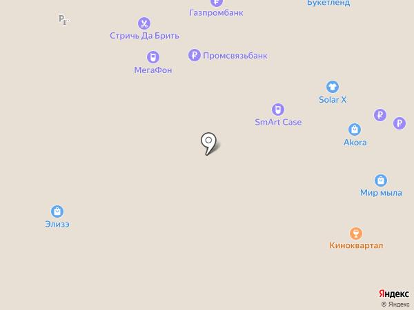 Мир мыла на карте Москвы