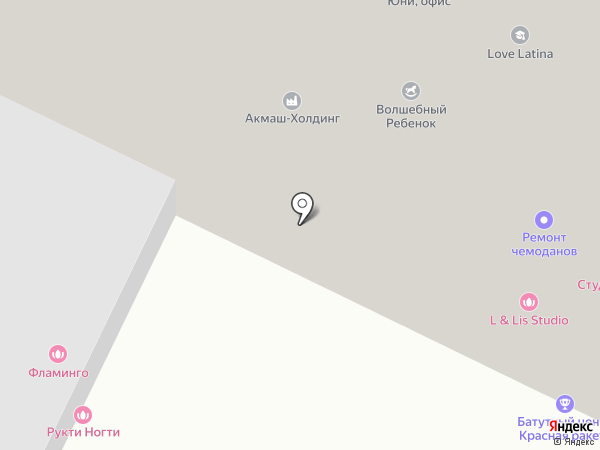 КСК Сервис на карте Москвы