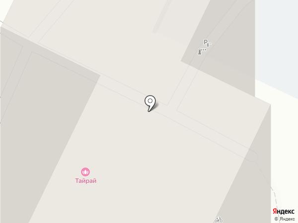 Ремонтная мастерская на карте Москвы