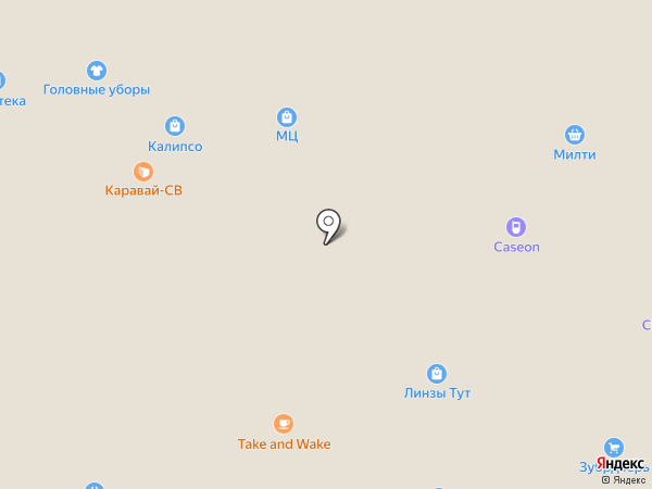 МЦ на карте Москвы