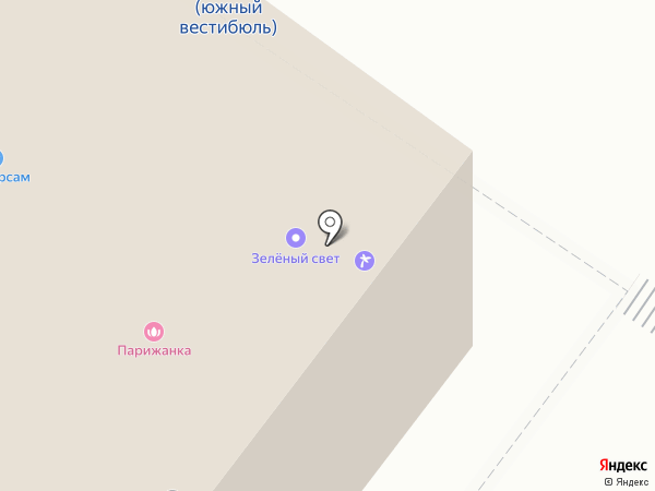 КБ Интерпромбанк на карте Москвы