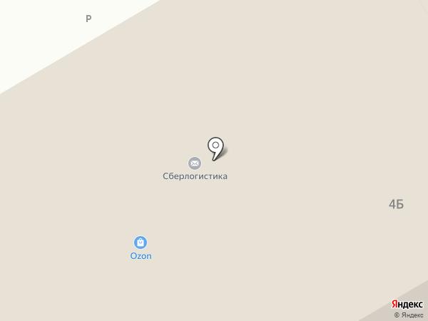 Почтовое отделение №117630 на карте Москвы