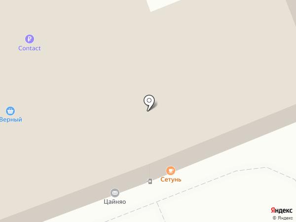 е2 на карте Москвы