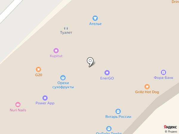 Argento на карте Москвы