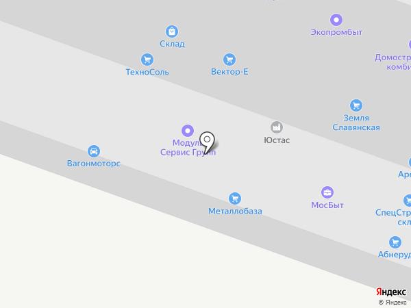 Вектор-е на карте Москвы