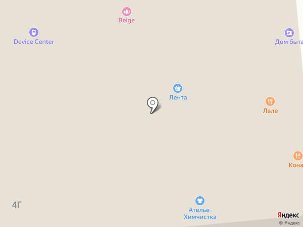 RU-салют на карте Москвы