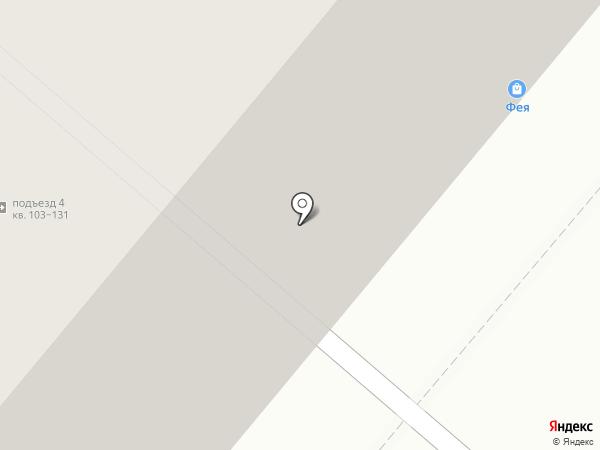 Альмега на карте Москвы