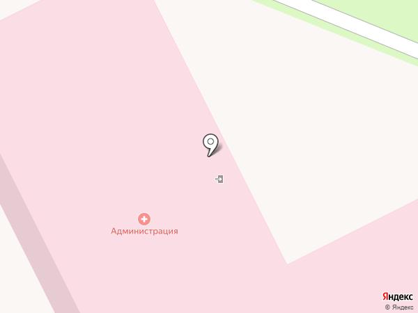 Подольская городская клиническая больница на карте Подольска