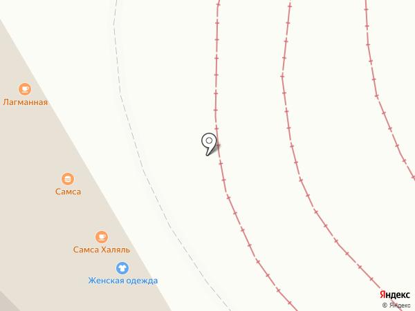 Картоша на карте Москвы