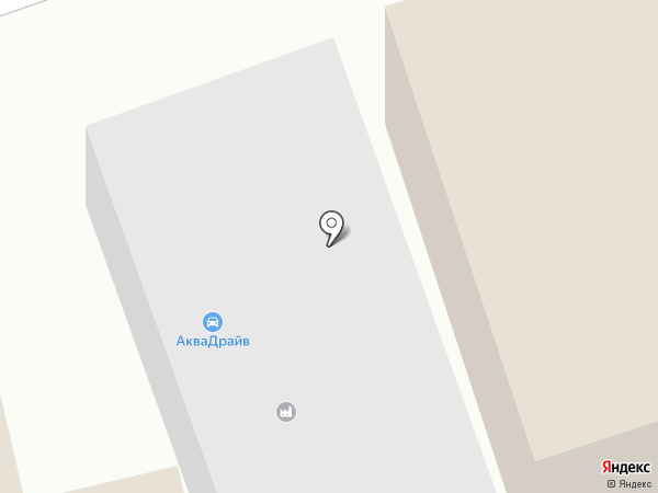 АкваДрайв на карте Грибков