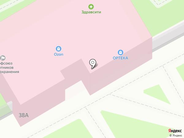 ОРТЕКА на карте Подольска