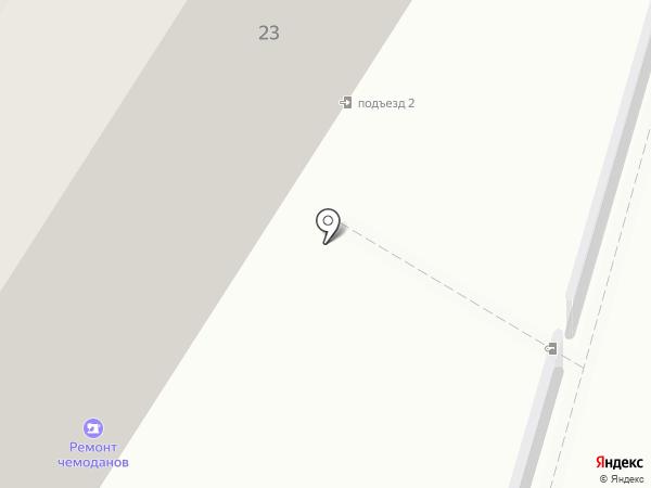 Ателье по ремонту и пошиву одежды на карте Москвы