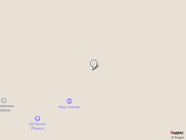 Кортстрой на карте Москвы