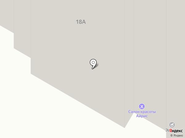Антей+ на карте Подольска