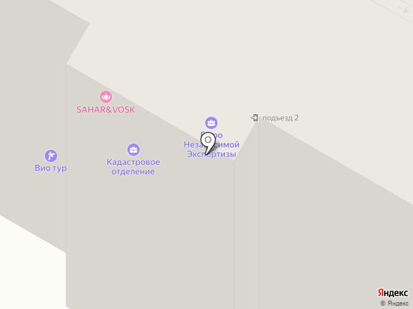 ТСЖ-16 на карте Подольска