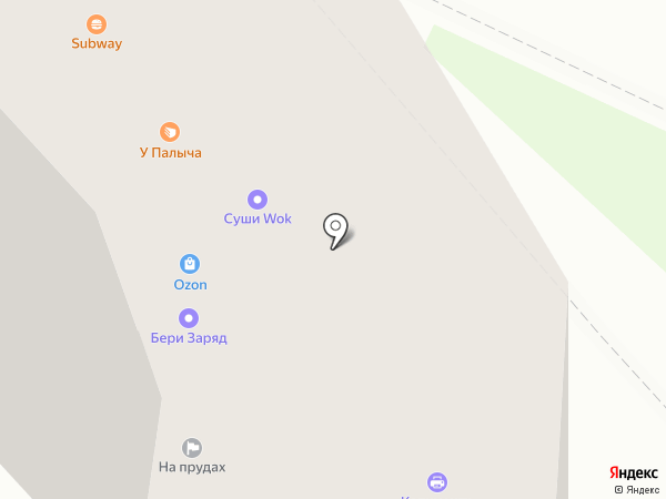 Эко Лакомка на карте Москвы