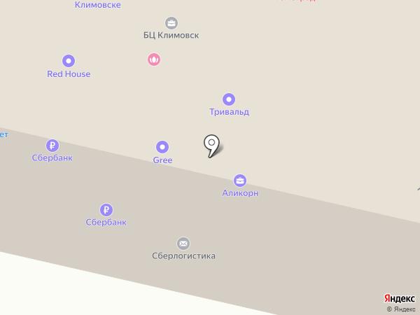 Банкомат, Сбербанк, ПАО на карте Подольска