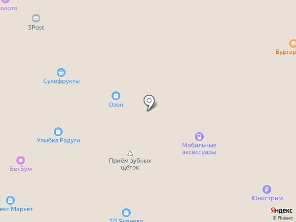 WhyFly на карте Москвы