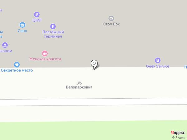Магазин ортопедических товаров на карте Москвы