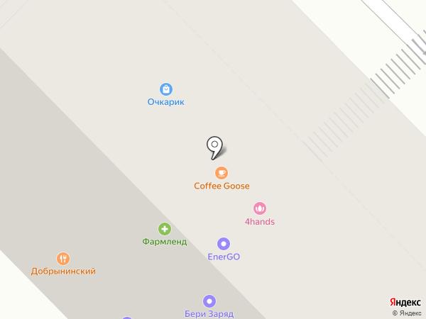 Нэко на карте Москвы