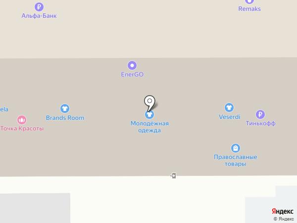 Магазин мобильных телефонов на карте Москвы