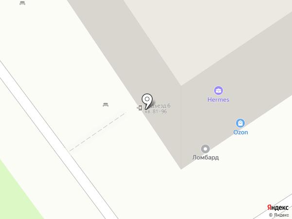 Парикмахерская №1 на карте Тулы