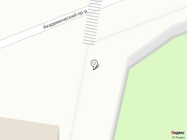 Марс на карте Подольска