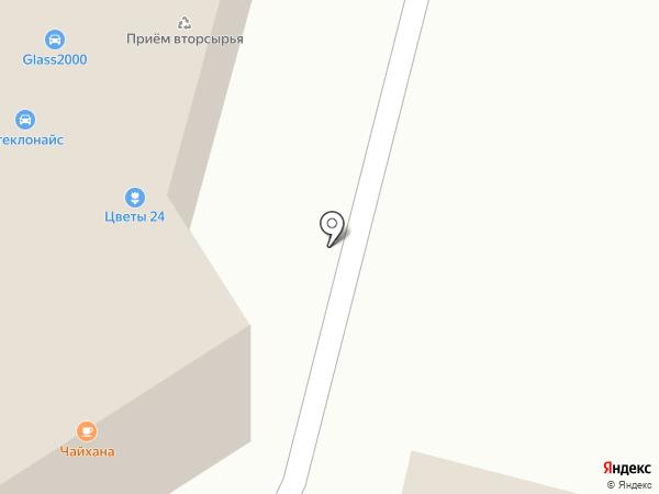 Литрушка на карте Подольска