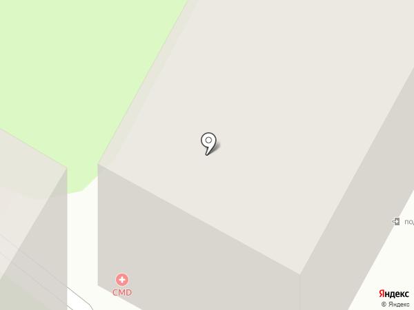 Гемакс на карте Подольска