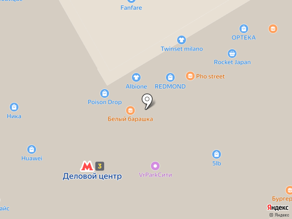 PLOFT на карте Москвы