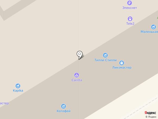 Баракат-Текс на карте Москвы