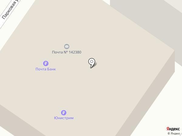 Почтовое отделение №142380 на карте Любучан