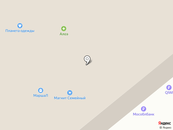 Банкомат, Мособлбанк, ПАО на карте Тулы