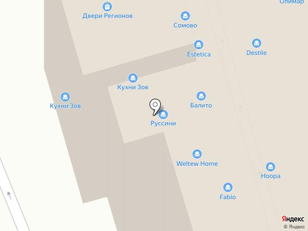 Родион на карте Москвы