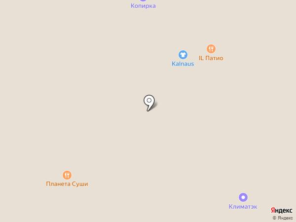 Burmet на карте Москвы