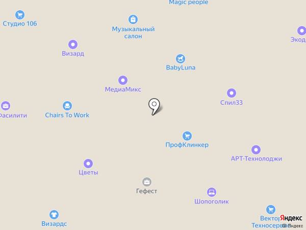 ТехДорМаркет на карте Москвы