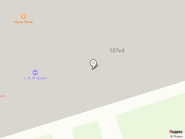 Летний сад на карте Москвы