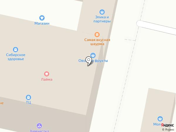 Стиль на карте Подольска