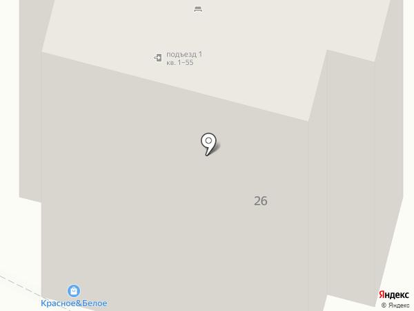 Дамар на карте Москвы