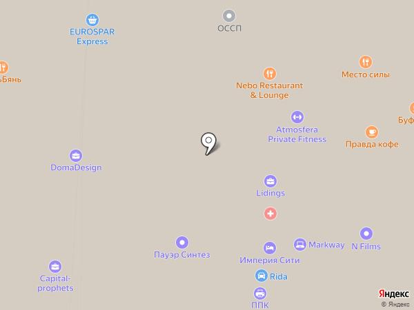 DC Project на карте Москвы