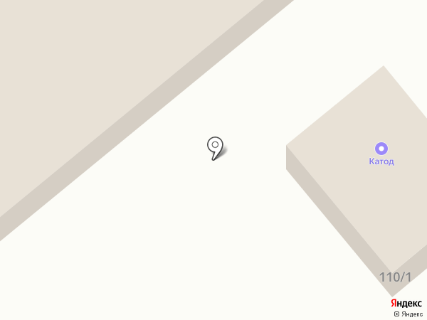 Катод на карте Тулы
