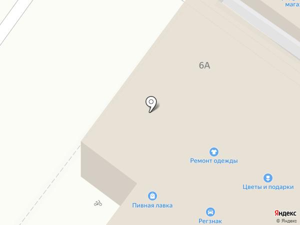 Киоск по продаже хлебобулочных изделий на карте Любучан