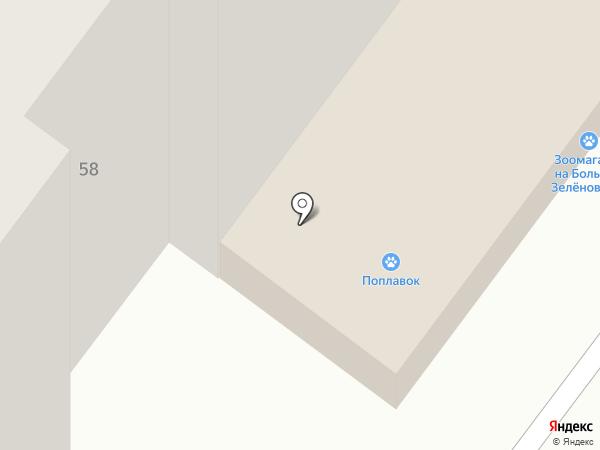 Поплавок на карте Подольска
