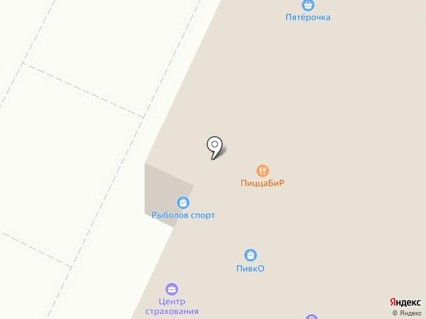 Магазин джинсовой одежды на карте Москвы