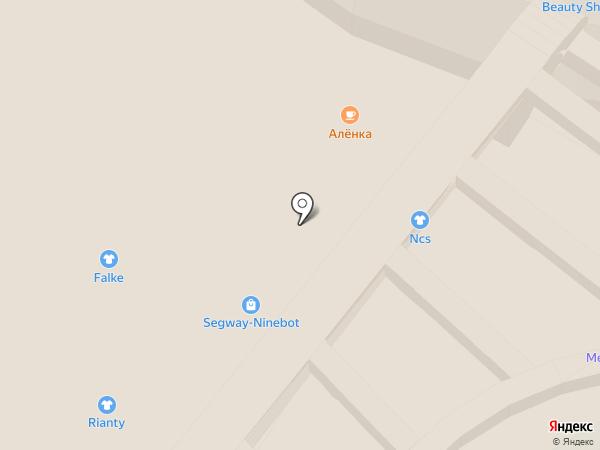 Эвалар на карте Москвы