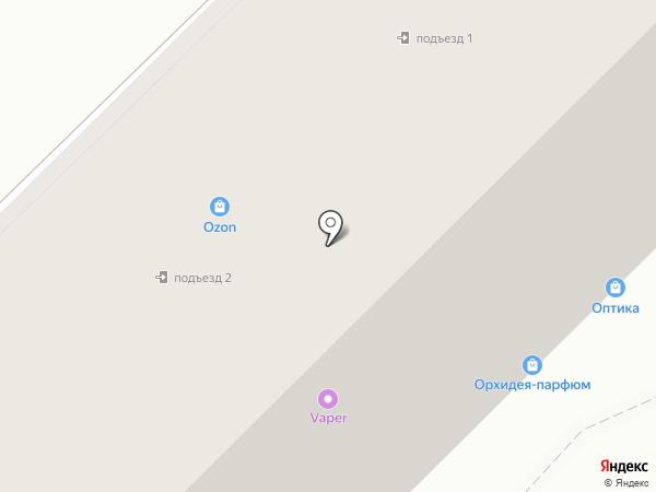 Ореол на карте Тулы