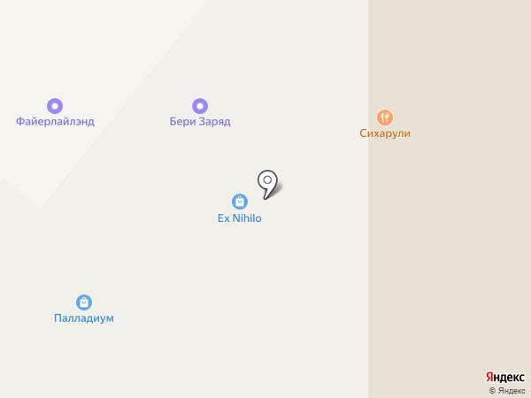 Книжный бульвар на карте Москвы