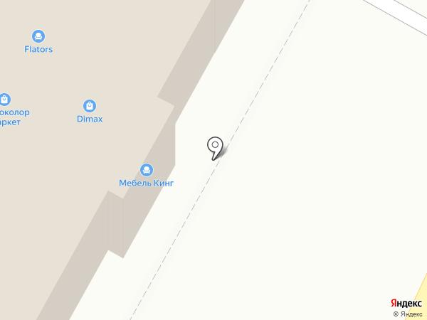 Вагант на карте Подольска