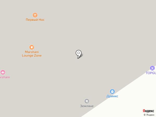 Сокол-Аэропорт на карте Москвы